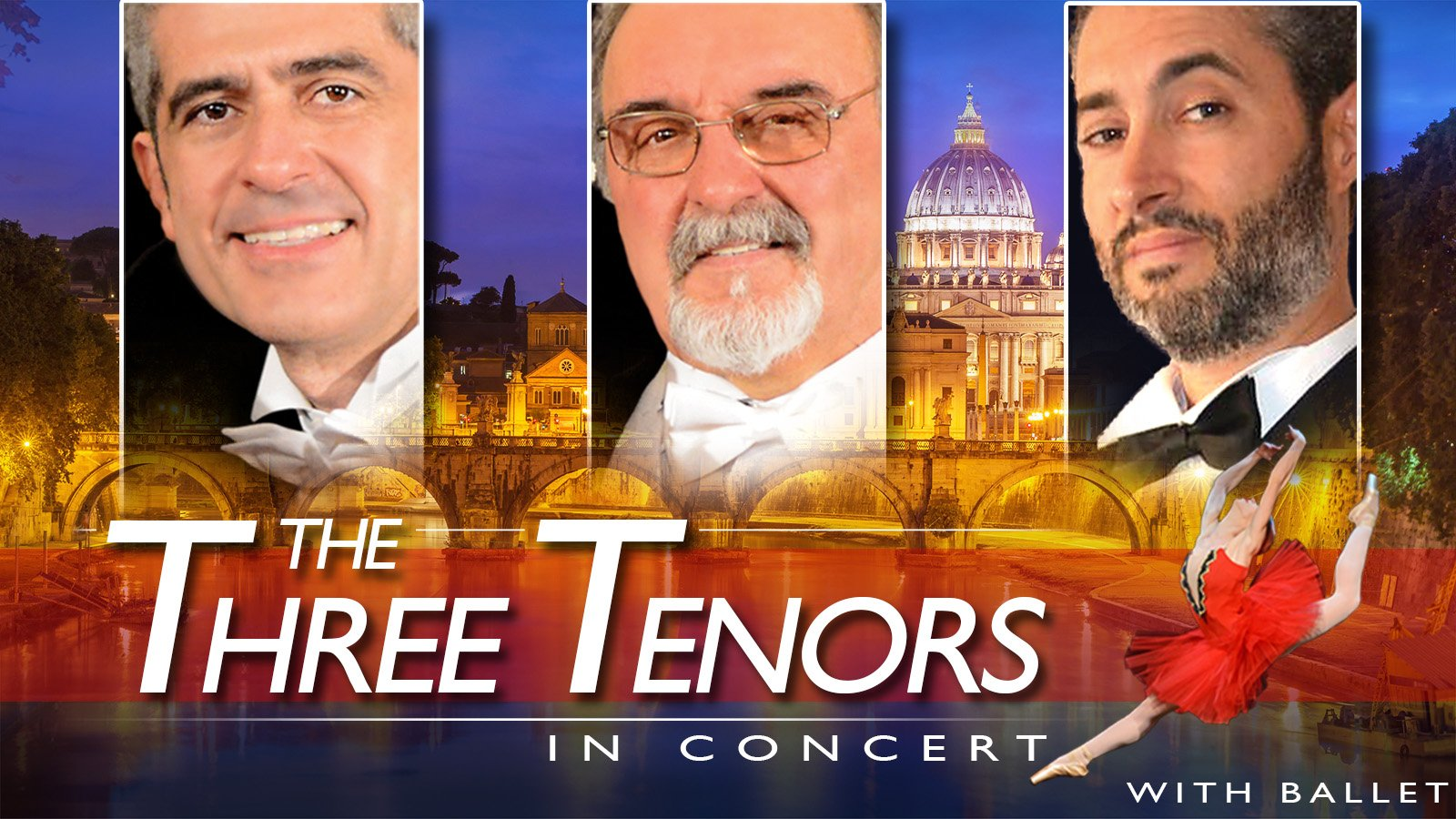 The Three Tenors in Rome