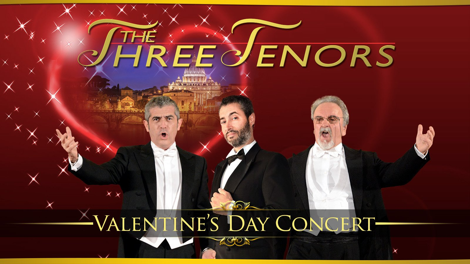 Valentine's Day Concert with The Three Tenors
