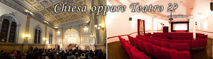 chiesa o teatro