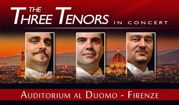 Three Tenors in Florence Duomo