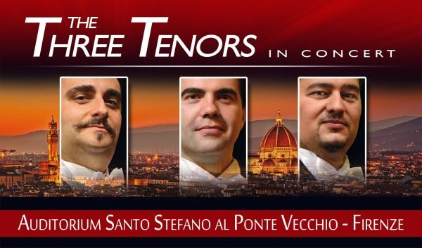 Three Tenors in Florence Santo Stefano