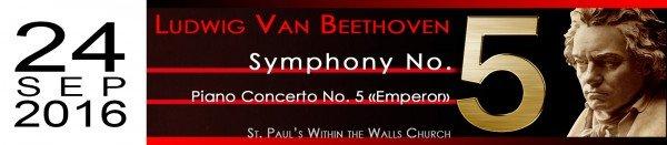 BEETHOVEN SYMPHONY No. 5 and PIANO CONCERT No. 5