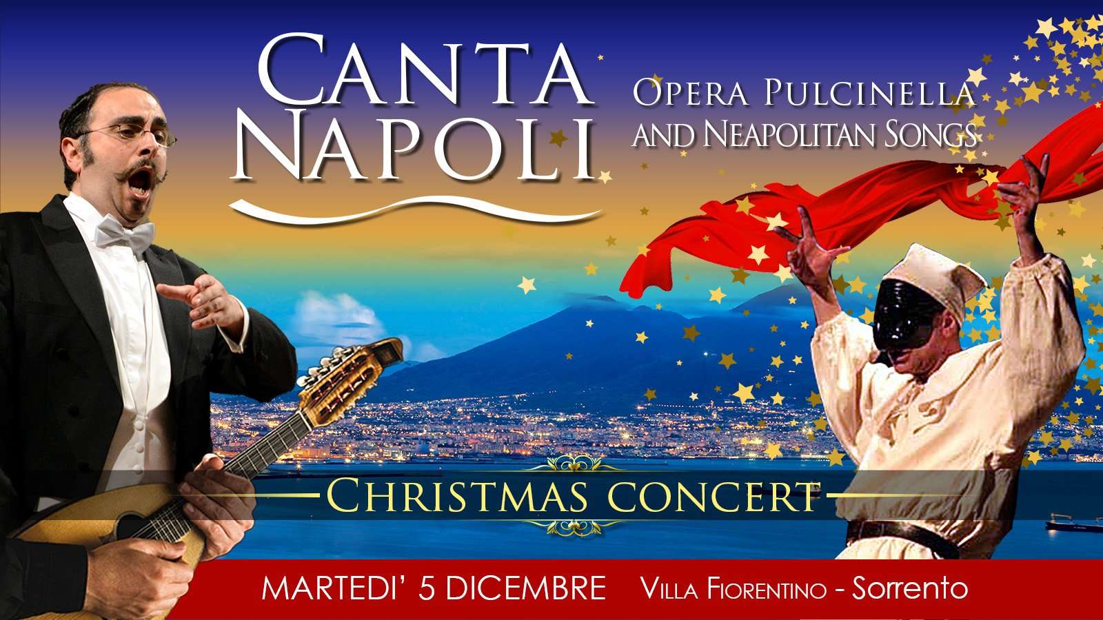 Canta Napoli in Sorrento Christmas Concert