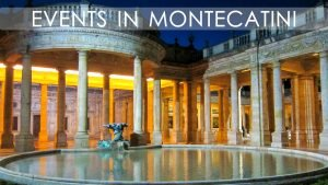 Events in Montecatini Terme