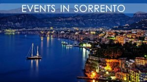 Events in Sorrento