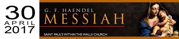 Haendel Messiah 30 apr