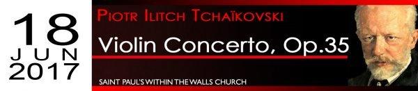Tchaikovsky Violin Concerto Op. 35