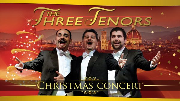 Three Tenors in Christams Concert