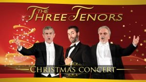 Three Tenors in Christams Concert in Rome
