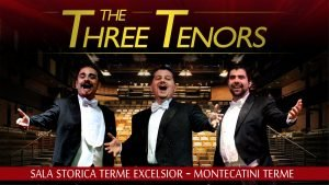 Three Tenors in Montecatini