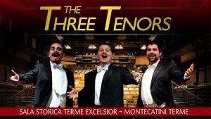 Three Tenors in Montecatini