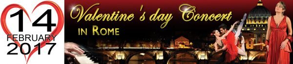 Valentines day Concert in Rome