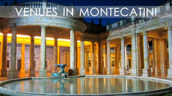Venues in Montecatini Terme
