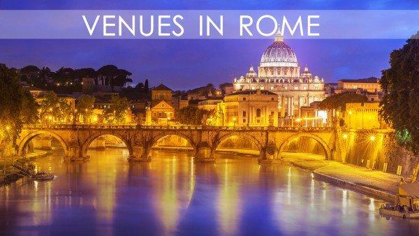 Venues in Rome