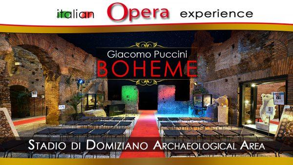 Italian Opera Experience La Boheme by Giacomo Puccini