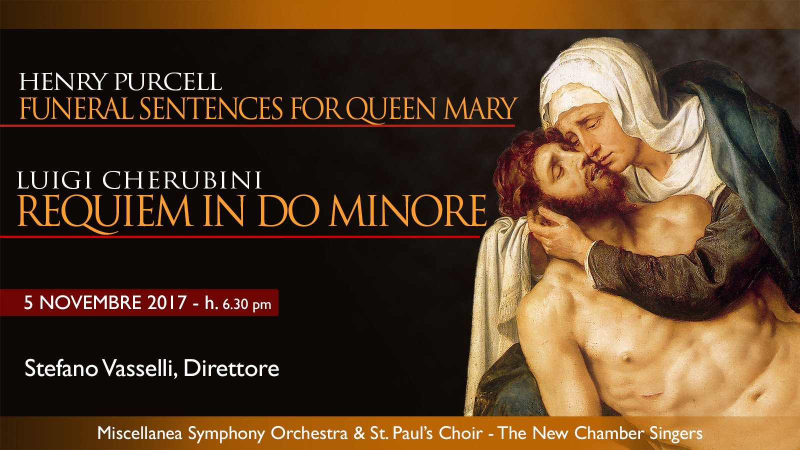 Requiem Cherubini in Rome