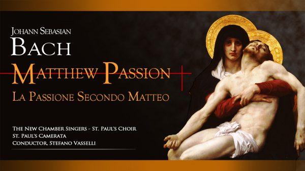Bach Matthew Passion in Rome
