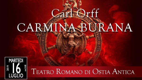 Carmina Burana Teatro Romano Ostia Antica