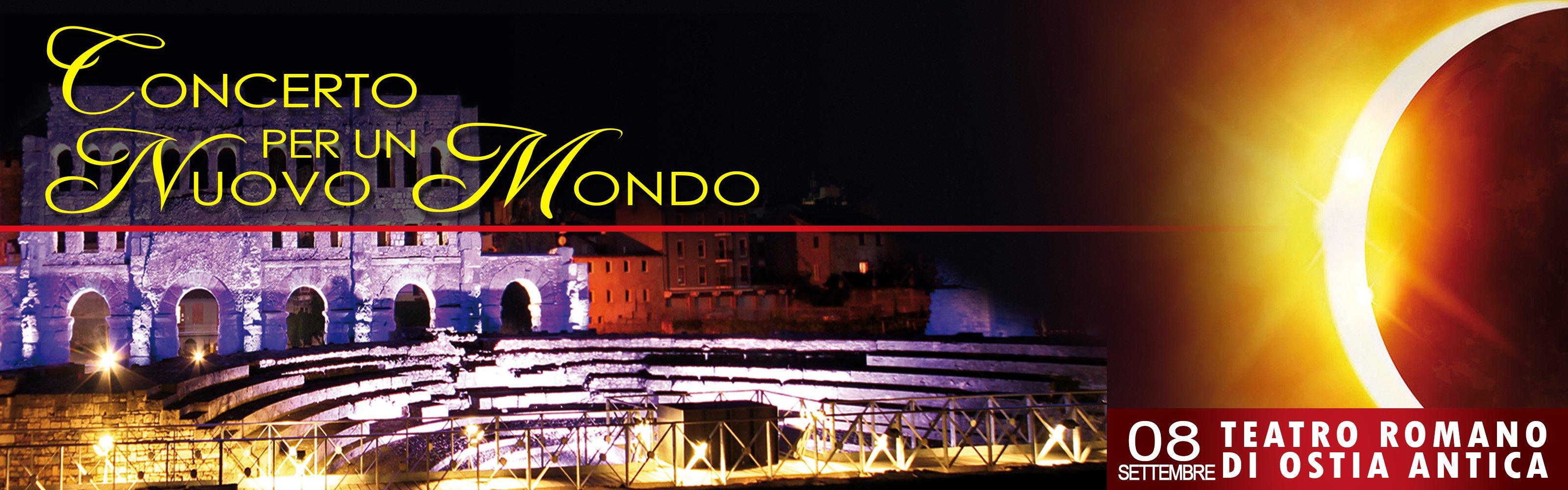Concerto per un nuovo mondo Teatro Romano Ostia Antica