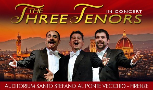 Three Tenors in Florence Santo Stefano ponte vecchio