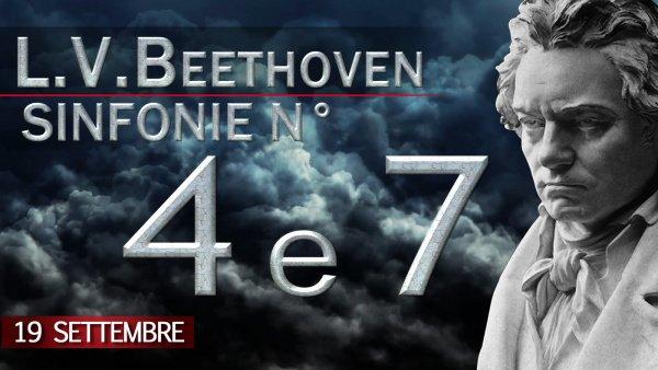 Beethoven sinfonie 4 e 7
